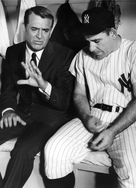 Cary Grant and Yogi Berracirca 1960s © 1978 Leo Fuchs - Image 0807_2080