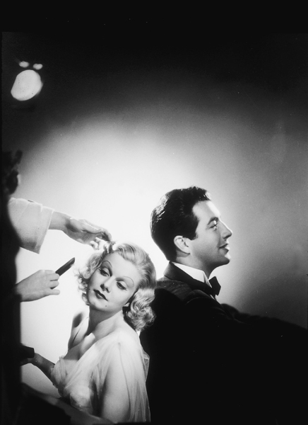 Jean Harlow and Robert Taylor, 1937. © 1978 Ted AllanMPTV  - Image 0808_0659