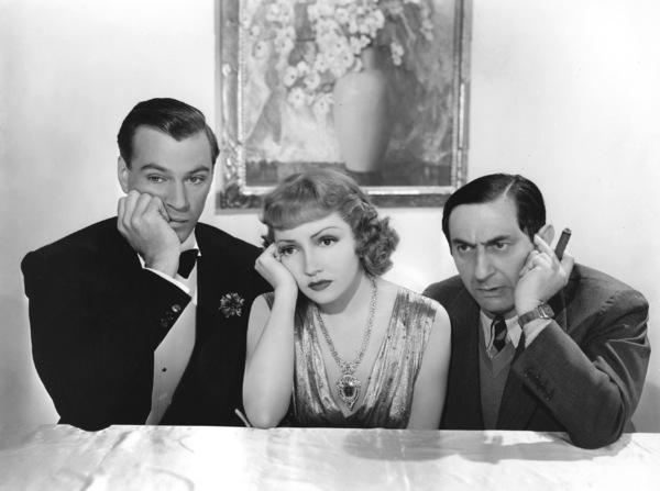 "Gary Cooper, Claudette Colbert, Ernst Lubitsch""Bluebeard"