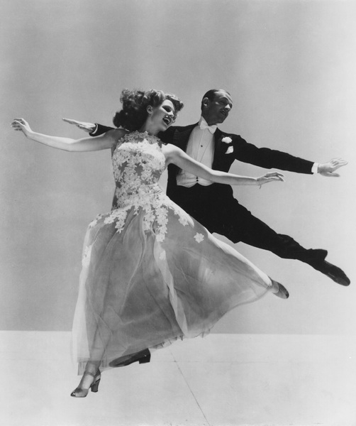 Fred Astaire with Rita Hayworthcirca 1941 - Image 0814_0842
