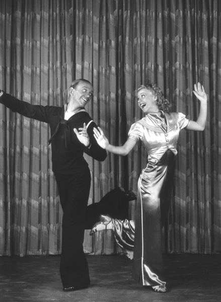 Fred Astaire and Ginger RogersJuly 1936 © 1978 James Doolittle - Image 0814_0857