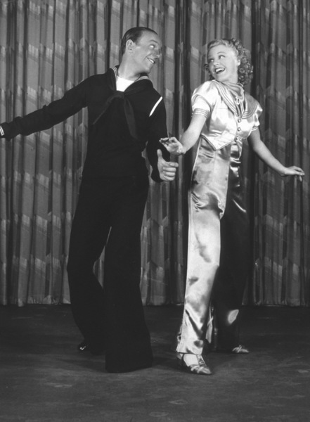 Fred Astaire and Ginger RogersJuly 1936 © 1978 James Doolittle - Image 0814_0859