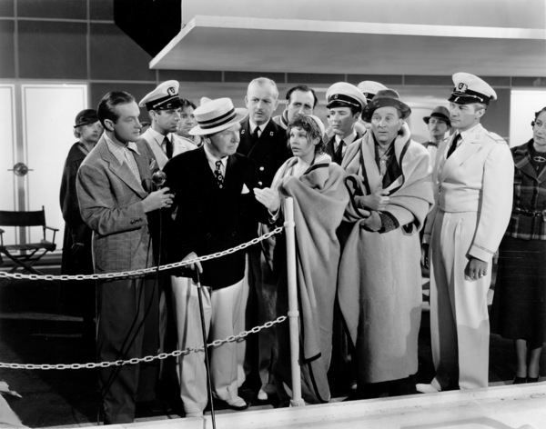 """The Big Broadcast of 1938,""Bob Hope, W.C. Fields, Martha Raye,and Lynne Oberman.1938 Paramount - Image 0815_0099"