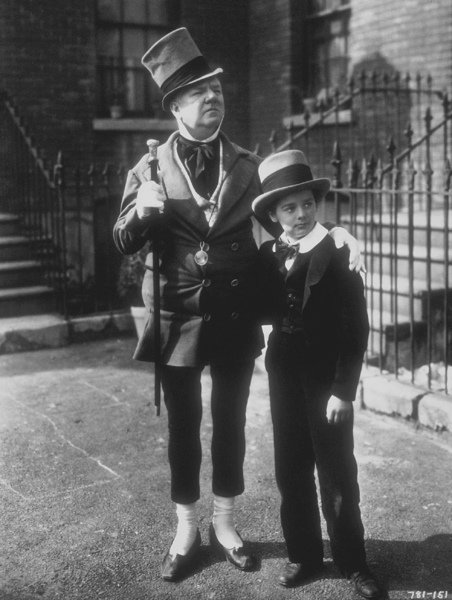 """W.C. Fields and Freddie Bartholomew in """"David Copperfield,"""" MGM 1934. © 1978 Ted AllanMPTV - Image 0815_0411"""