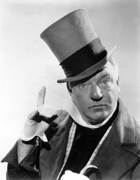 "W.C. Fields in character for ""David Copperfield,"" 1934. © 1978 Ted Allan - Image 0815_0416"