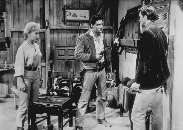 "Elvis Presley and Barbara Edenin ""Flaming Star""1960 20th Century Fox - Image 0818_0082"