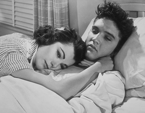 "Elvis Presley and Judy Tylerin ""Jailhouse Rock""1957 MGM - Image 0818_0089"