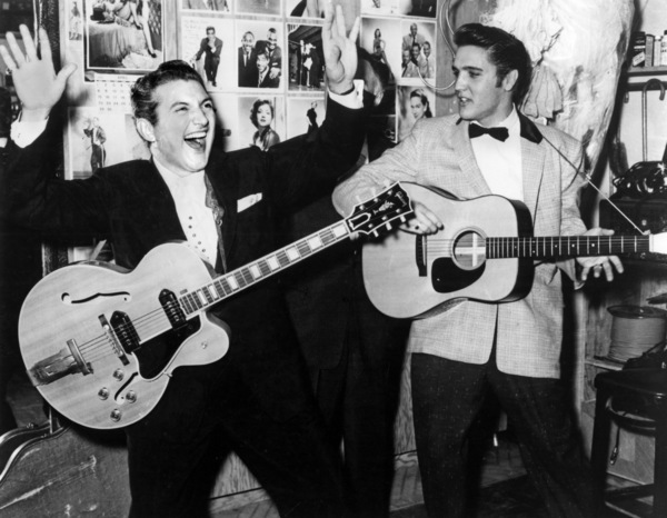 Elvis Presley and Lee Liberacecirca 1950s** I.V.M. - Image 0818_0734
