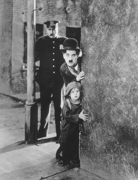"Charles Chaplin and Jackie Coogan in ""The Kid"" 1921 First National Pictures - Image 0860_0575"