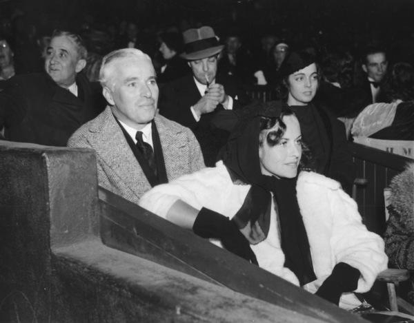 Charlie Chaplin and Paulette GoddardC. 1939** I.V. - Image 0860_0703