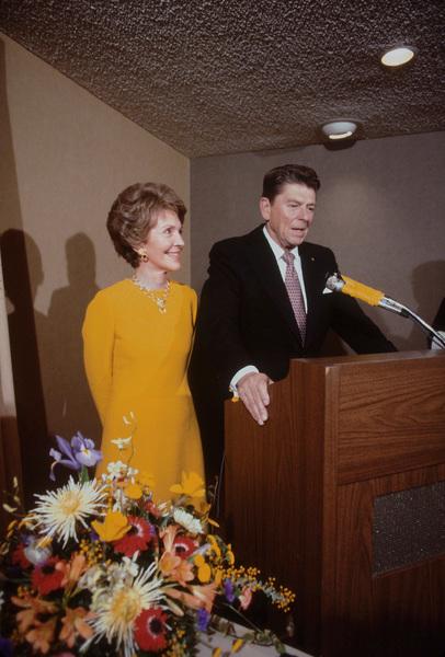 Ronald Reagan with wife Nancy Reagan1980 © 1980 GuntherMPTV - Image 0871_1629