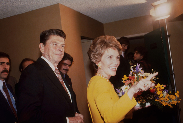 Ronald Reagan with wife Nancy Reagan1980 © 1980 GuntherMPTV - Image 0871_1631