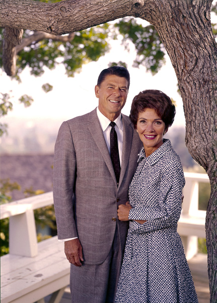 Ronald Reagan and wife Nancy Reaganat 1669 San Onofre Dr., Pacific Palisades, CA1966 © 1978 John Engstead**R.L. - Image 0871_1768