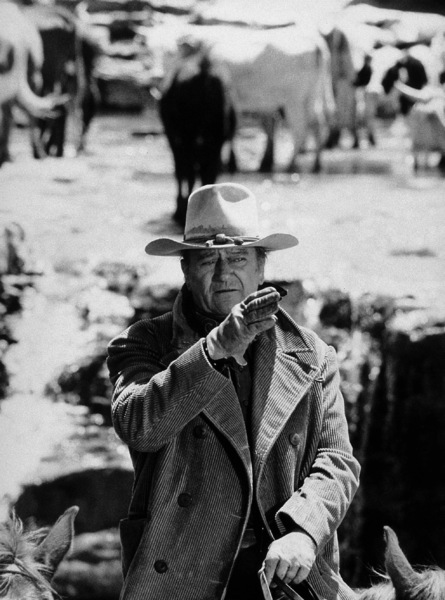 "John Wayne in ""The Cowboys,"" Warner Bros. 1972. - Image 0898_0251"