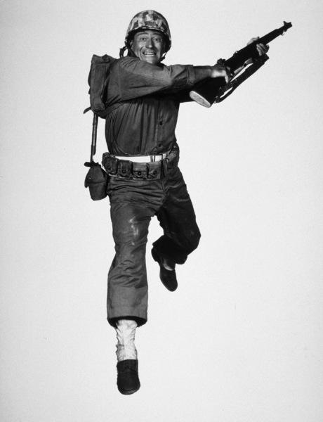 "John Wayne in ""Sands of Iwo Jima"" 1949 Republic Photo by Roman Freulich - Image 0898_0303"