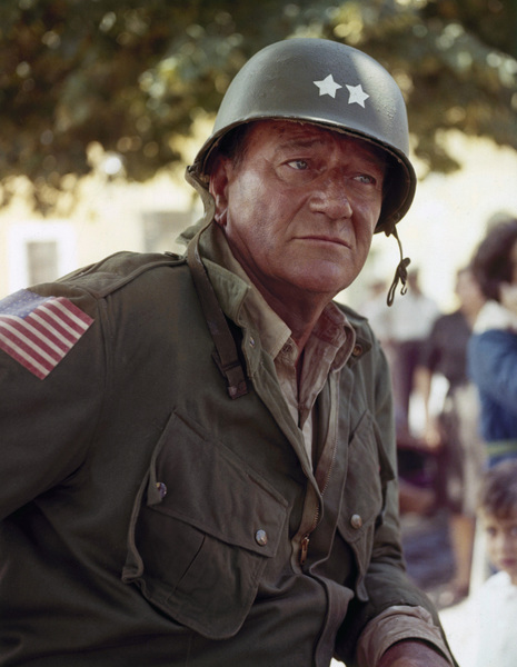 "John Wayne in ""Cast a Giant Shadow""1966© 1978 David Sutton - Image 0898_0859"