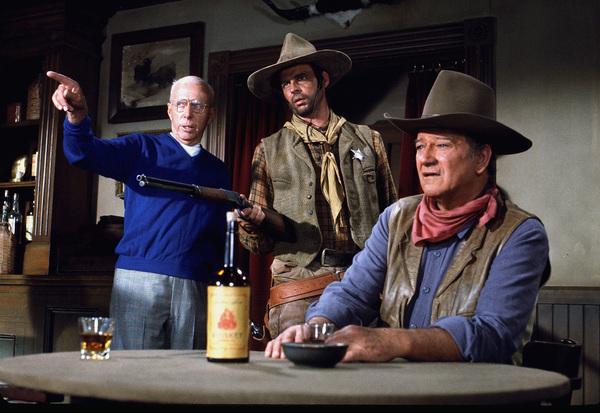 "John Wayne in ""Rio Lobo,"" Warner Bros. 1970.Photo by Marv Newton. - Image 0898_2095"