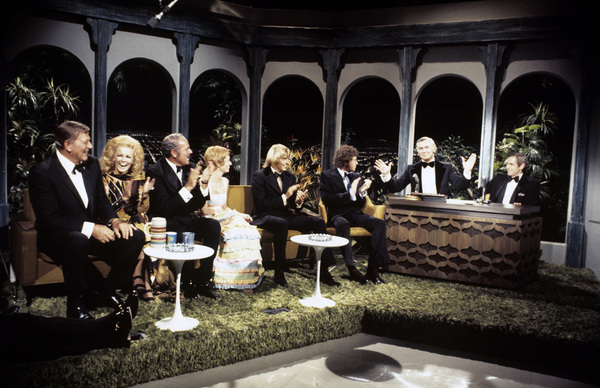"John Wayne, Ann-Margret, Harvey Korman, Sandy Duncan, and Johnny Carson on ""The Tonight Show""1972© 1978 David Sutton - Image 0898_3099"