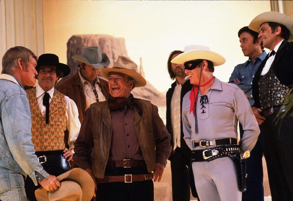 John Wayne, Chuck Connors, Hugh O
