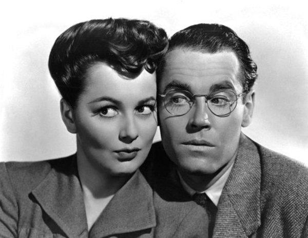 "Olivia de Havilland and Henry Fonda in ""The Male Animal""1942 Warner Brothers - Image 0925_1001"