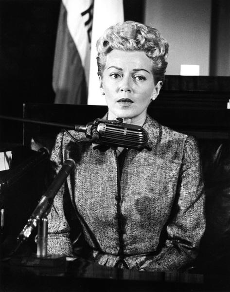 Lana Turner at the Johnny Stompanato murder trial1958** I.V. - Image 0954_0706