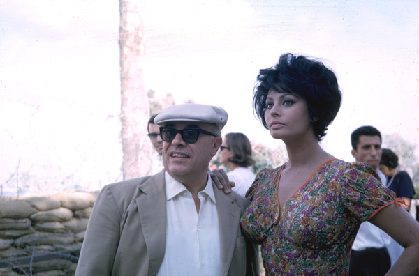 Sophia Loren and husband Carlo Ponti, c. 1965. © 1978 Gunther - Image 0959_2058