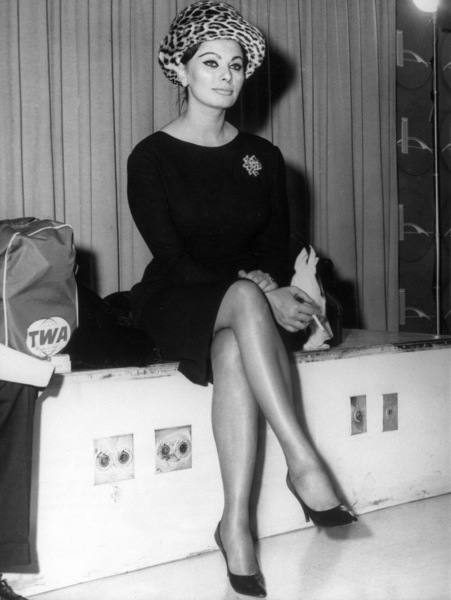 Sophia Loren at New York