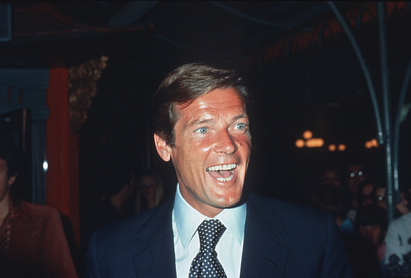 Roger Moore, c. 1974 © 1978 Chester Maydole - Image 0963_0046
