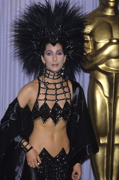 "Cher at ""The 58th Annual Academy Awards""1986 © 1986 Gary Lewis - Image 0967_0225"