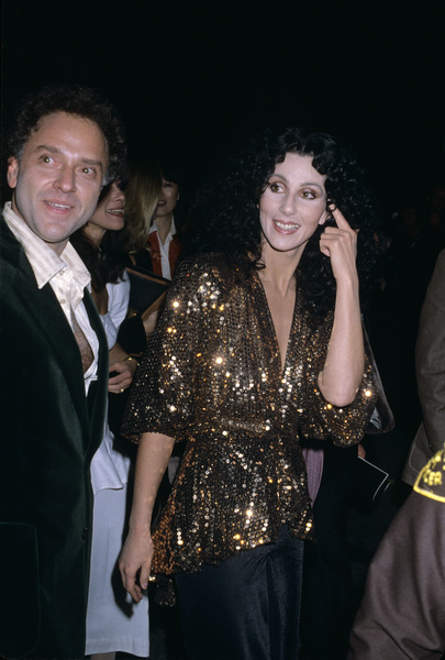 Cher and Neil Bogartcirca 1990s © 1990 Gary Lewis - Image 0967_0226