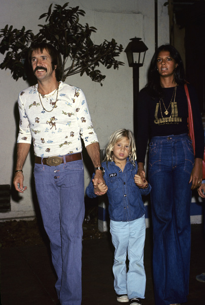 Sonny and Chastity Bono with Susie Coelho circa 1970s © 1978 Gary Lewis - Image 0967_0249