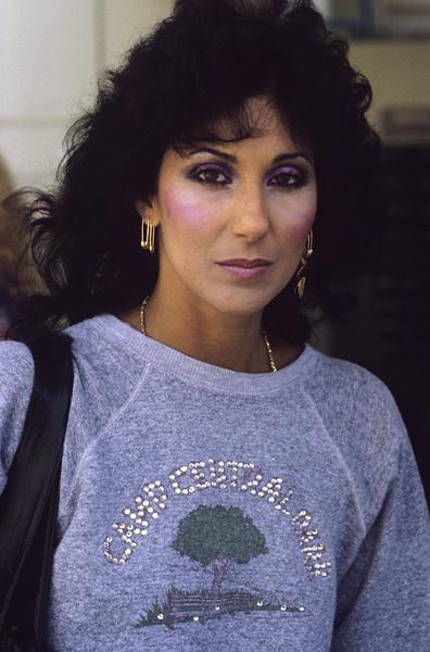 Cher Bonocirca 1980s© 1980 Gary Lewis - Image 0967_0271