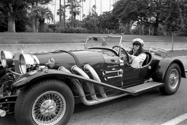 Cher Bono in her Excalibur car in Beverly Hills1967© 1978  Bob Willoughby - Image 0967_0287
