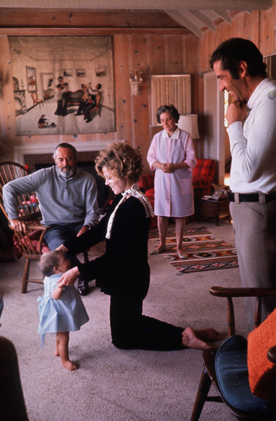 Jane Fonda, Vanessa Henry Fonda,and Jane