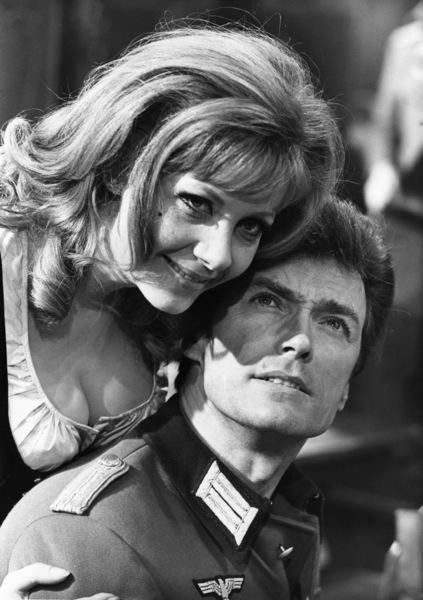"Clint Eastwood and Ingrid Pitt on the set of ""Where Eagles Dare""1968** J.C.C. - Image 0973_0900"