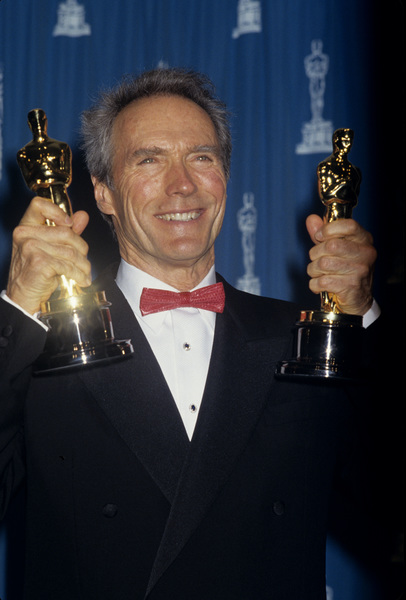 """Clint Eastwood at """"The 65th Annual Academy Awards""""1993© 1993 Gary Lewis - Image 0973_0928"""