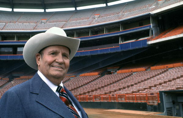 Gene Autry at Angel Stadium in Anaheim, California1978 © 1978 Gunther - Image 0987_1009