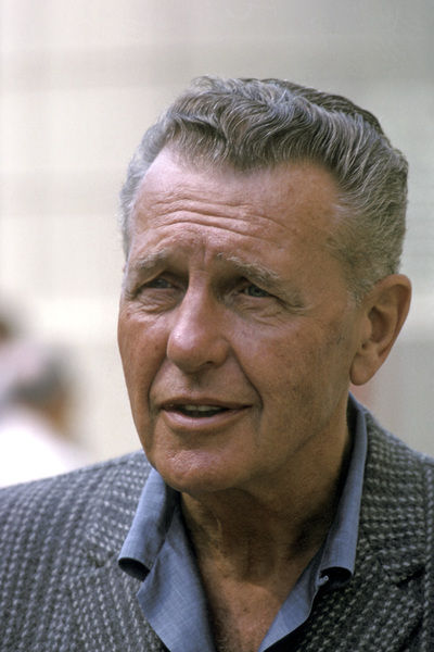 Ralph Bellamy at home1963 © 1978 Gene Trindl - Image 0993_0033
