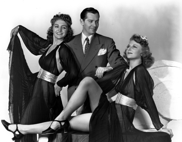 Milton Berle with theChez Paree Girls, c. 1935. © 1978 Maurice Seymour - Image 0996_0148