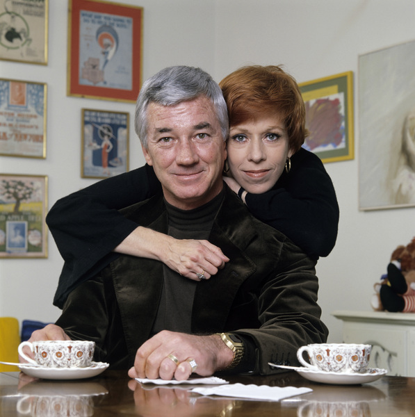 Carol Burnett and husband Joe Hamilton at home1979 © 1979 Ken Whitmore - Image 1000_0160