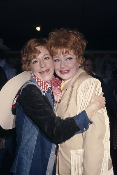 Carol Burnett and Lucille Ballcirca 1970s© 1978 Gary Lewis - Image 1000_0186