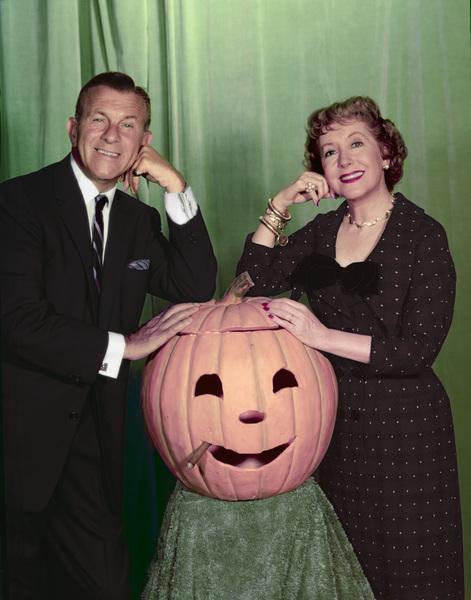 George Burns and Gracie Allen circa 1955 Photo by Gabi Rona - Image 1001_0012