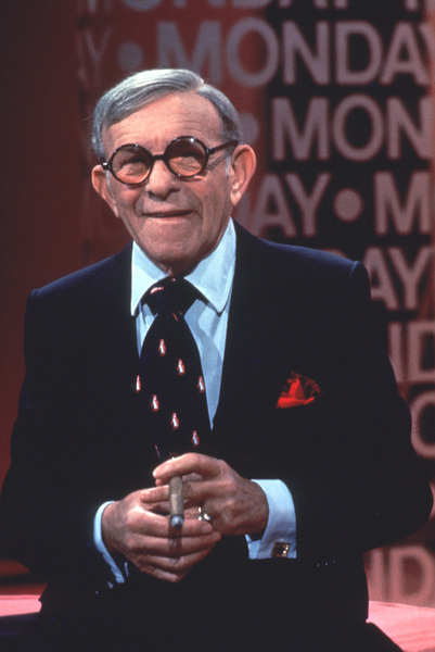 George Burns, 1978.Photo by Gabi Rona - Image 1001_0305