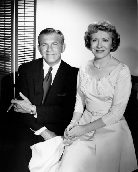 George Burns and Gracie Allen, 1957.Photo by Gabi Rona - Image 1001_0612