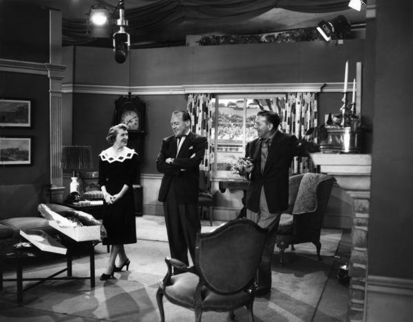 """The George Burns and Gracie Allen Show""George Burns, Gracie Allen, Jack Benny1950Photo by Gabi Rona - Image 1001_0686"