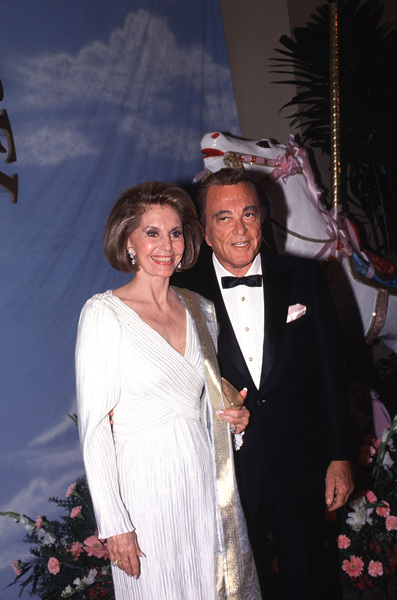"Cyd Charisse and Tony Martinat ""Carousel of Hope"" Charity EventOctober 1990 © 1990 Gunther - Image 1003_0064"