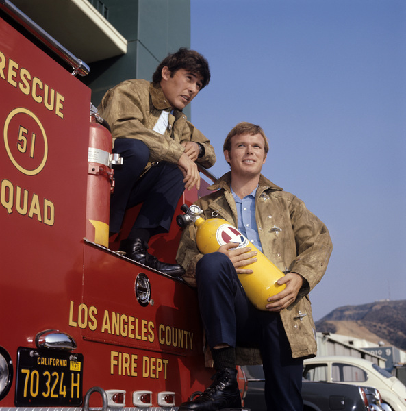 """Emergency!""Kevin Tighe, Randolph Mantooth1972** H.L. - Image 10062_0012"