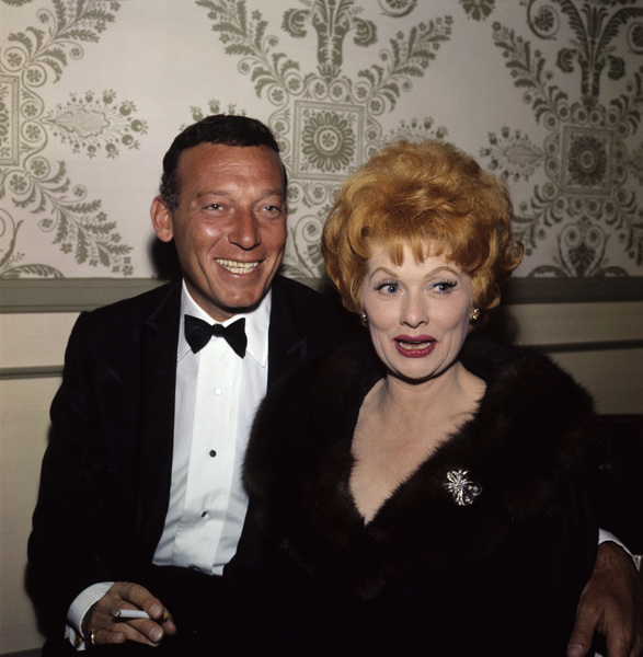"""The Golden Globe Awards""Gary Morton, Lucille Ball1962 © 1978 Bernie Abramson - Image 10095_0011"