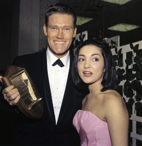 """The Golden Globe Awards""Chuck Connors1962© 1978 Bernie Abramson - Image 10095_0013"