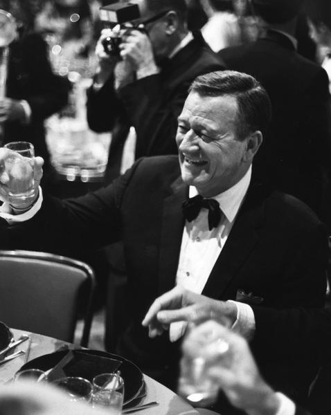 """Golden Globe Awards"" John Wayne 1968 © 1978 Gunther - Image 10636_0021"